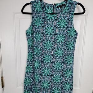 Paisley banana republic tank dress